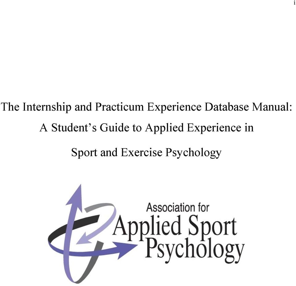 Student s Guide to Applied