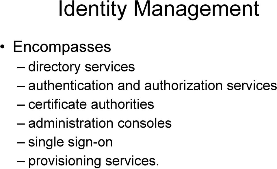 services certificate authorities