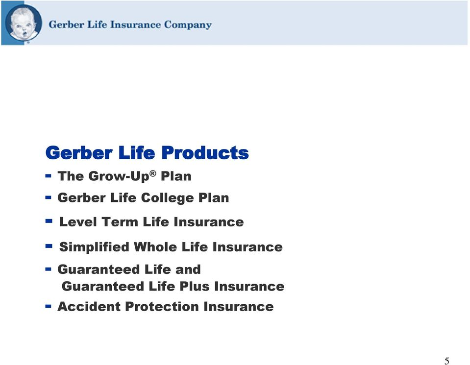 Whole Life Insurance - Guaranteed Life and Guaranteed