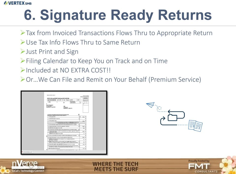 Print and Sign Filing Calendar to Keep You on Track and on Time