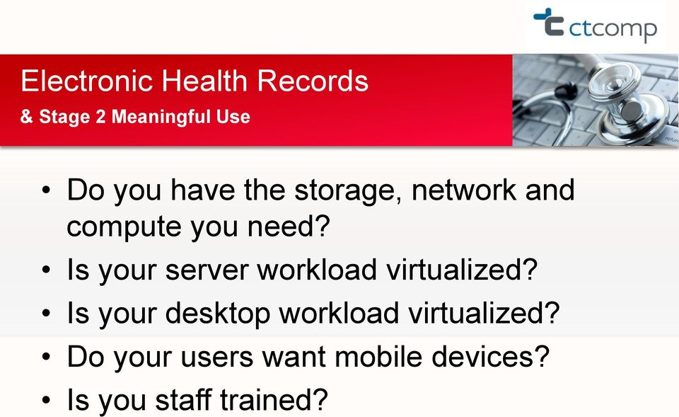 Is your server workload virtualized?
