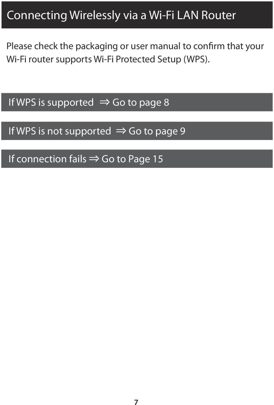 supports Wi-Fi Protected Setup (WPS).