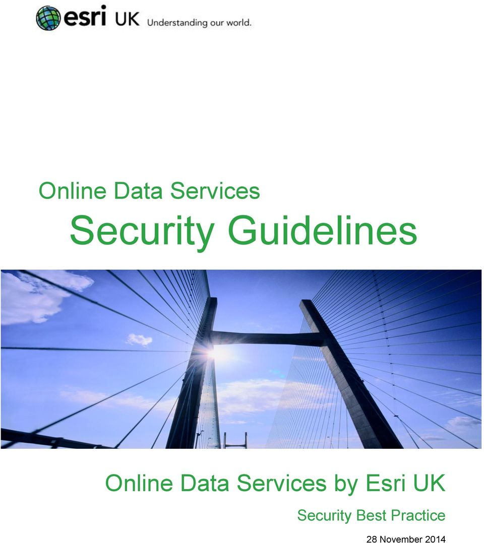 Esri UK Security Best
