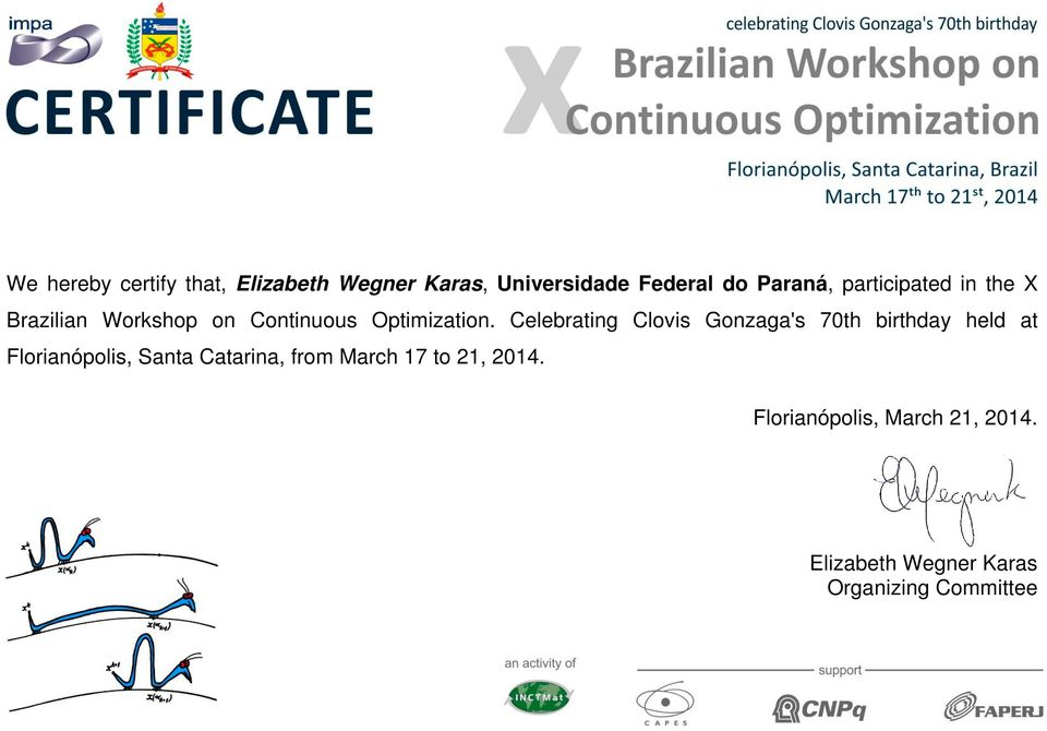 Brazilian Workshop on Continuous