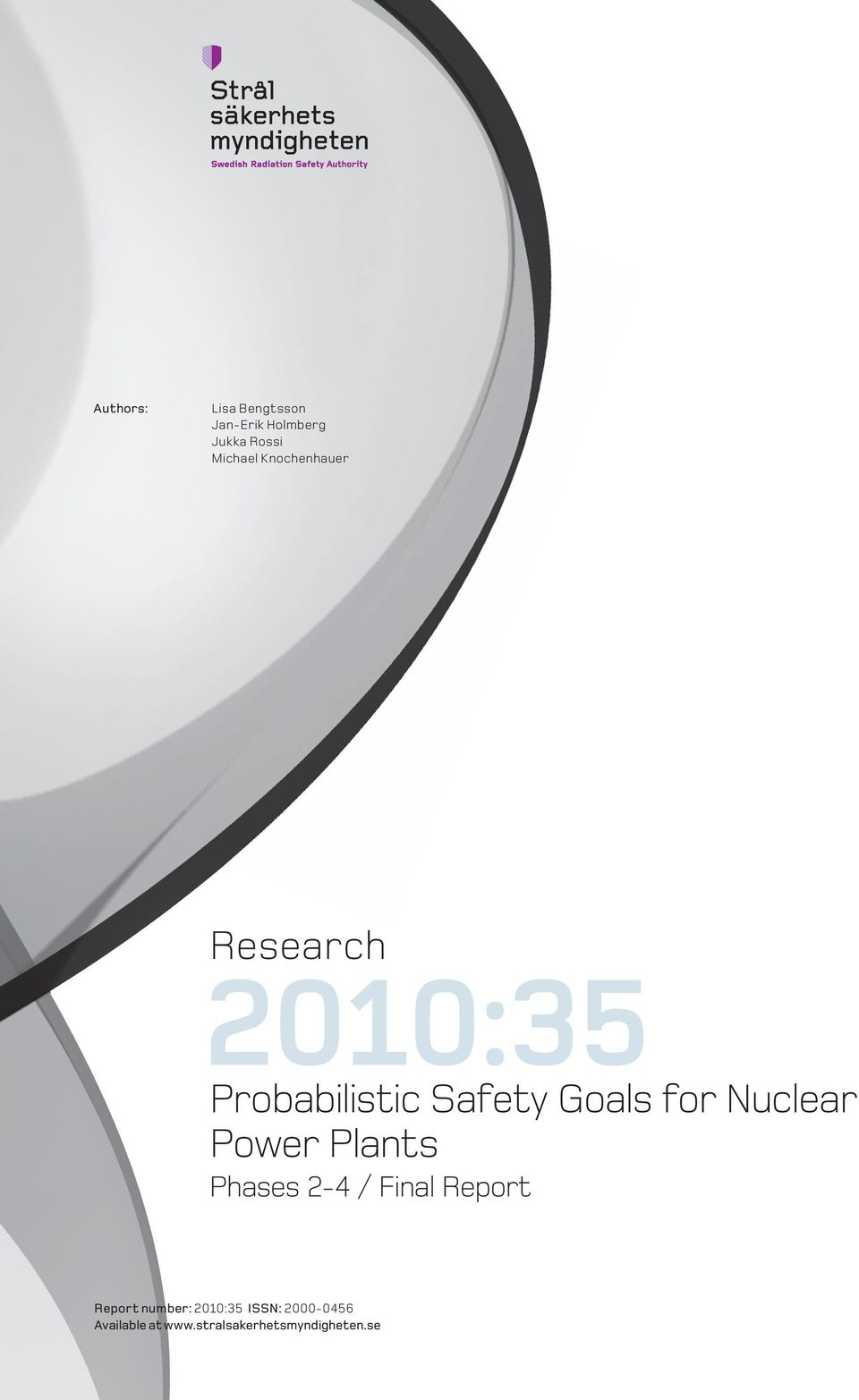 Nuclear Power Plants Phases 2-4 / Final Report Report number: