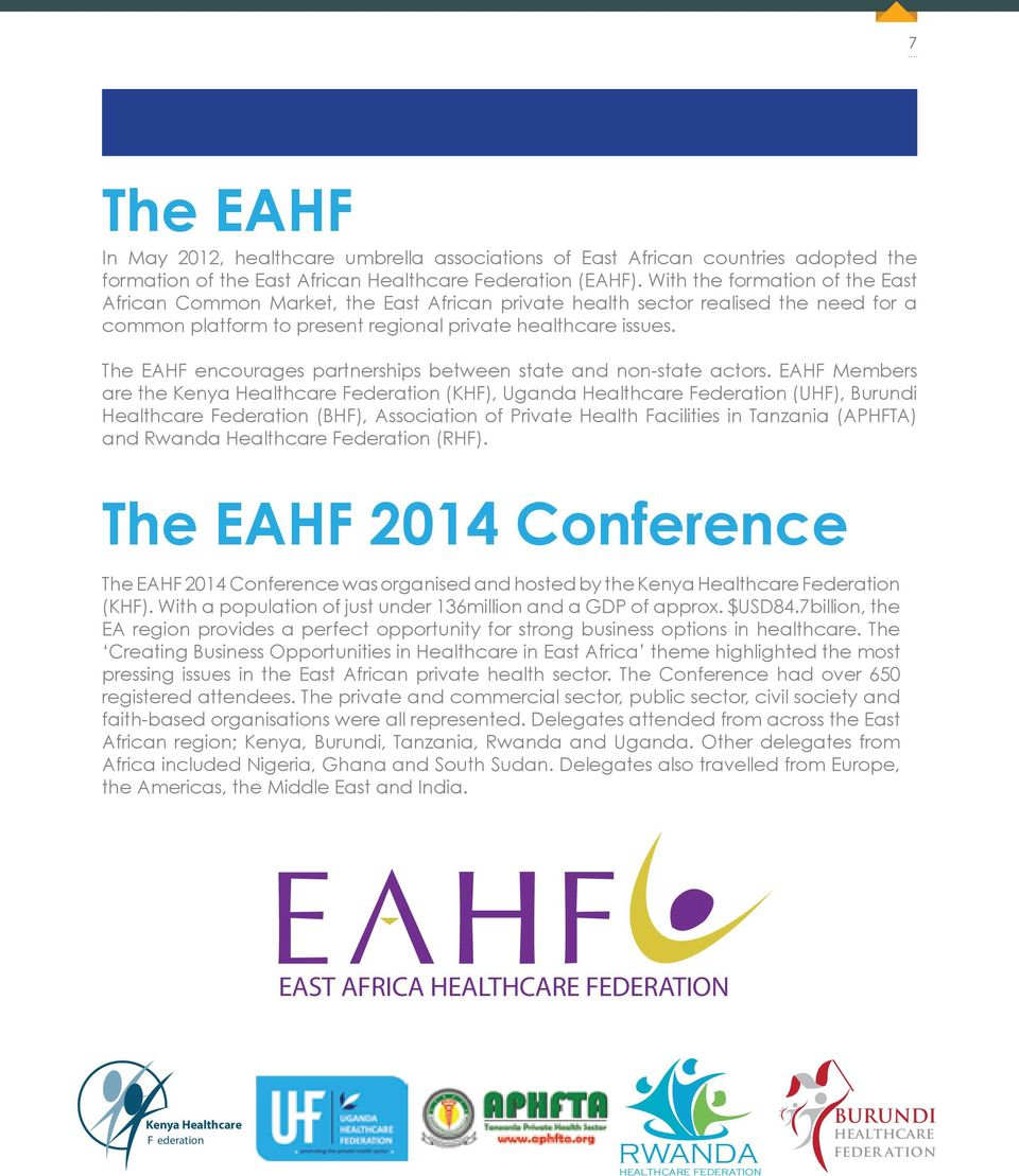 EAST AFRICA HEALTHCARE FEDERATION CREATING BUSINESS