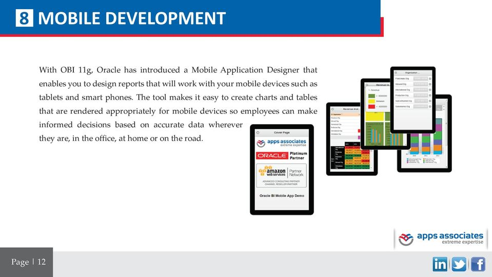 The tool makes it easy to create charts and tables that are rendered appropriately for mobile devices so