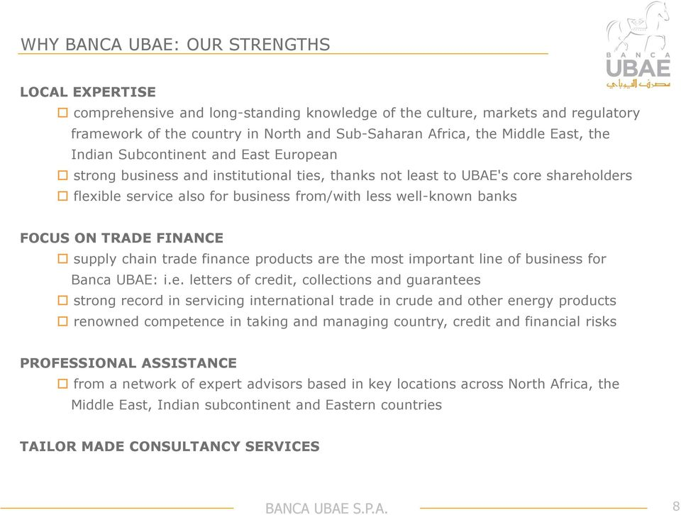 FOCUS ON TRADE FINANCE supply chain trade