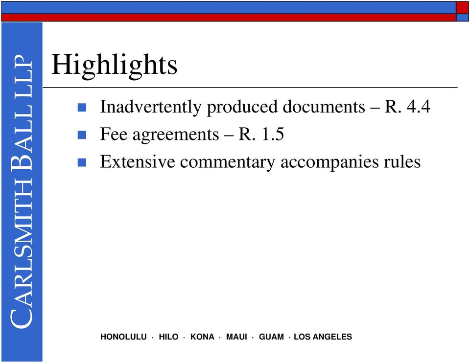 4 Fee agreements R. 1.
