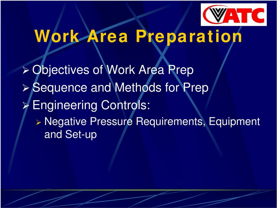for Prep Engineering Controls: