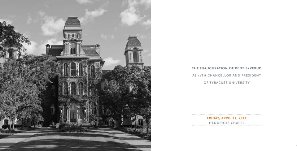 of Syracuse University Friday,