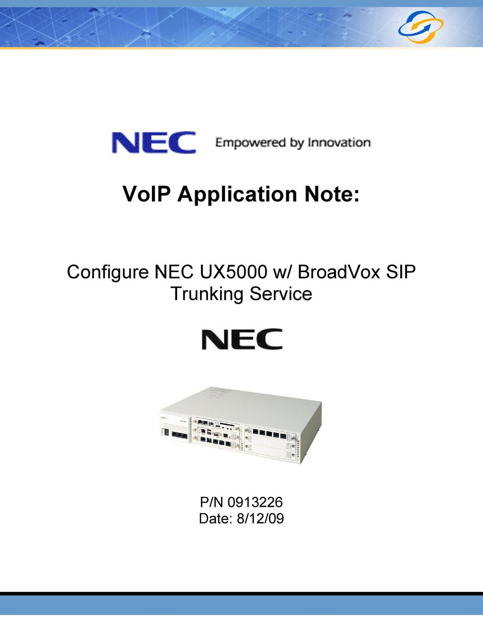 BroadVox SIP Trunking