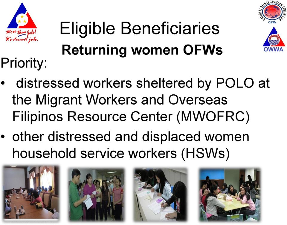Workers and Overseas Filipinos Resource Center (MWOFRC)