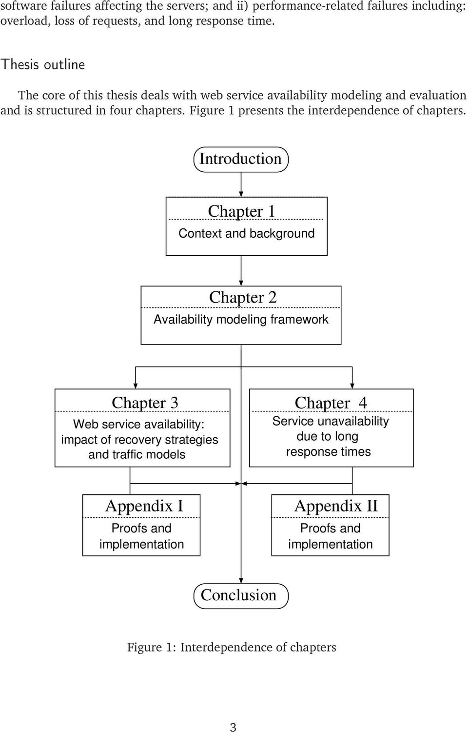Figure 1 presents the interdependence of chapters.
