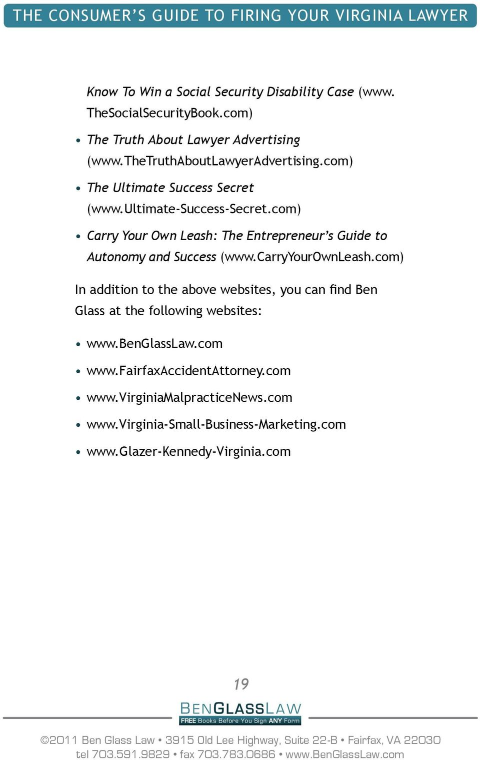 com) Carry Your Own Leash: The Entrepreneur s Guide to Autonomy and Success (www.carryyourownleash.