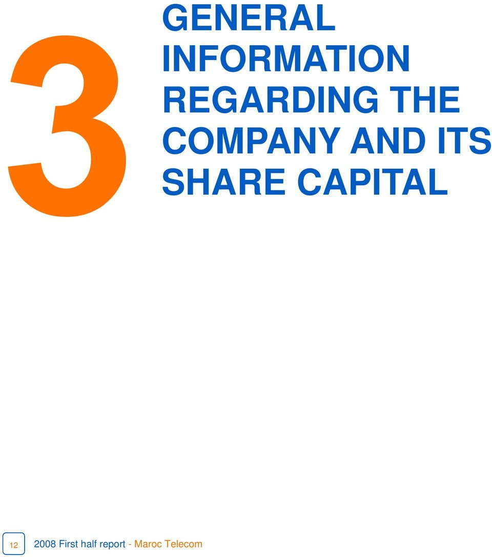 ITS SHARE CAPITAL 12 2008