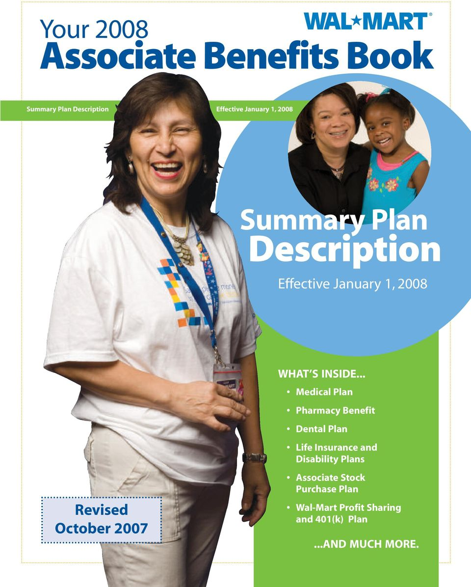 .. Medical Plan Pharmacy Benefit Dental Plan Life Insurance and Disability