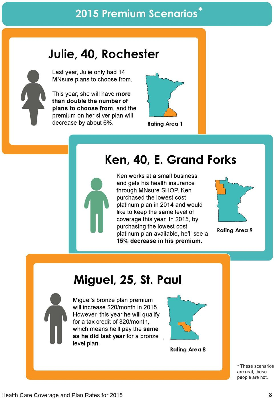 Grand Forks Ken works at a small business and gets his health insurance through MNsure SHOP.