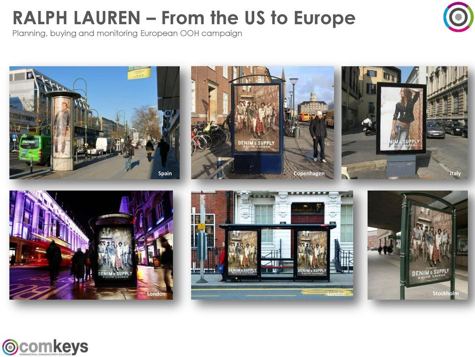 monitoring European OOH campaign