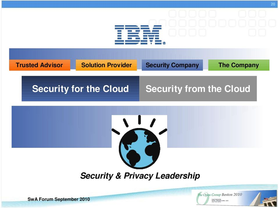 Company Security for the Cloud