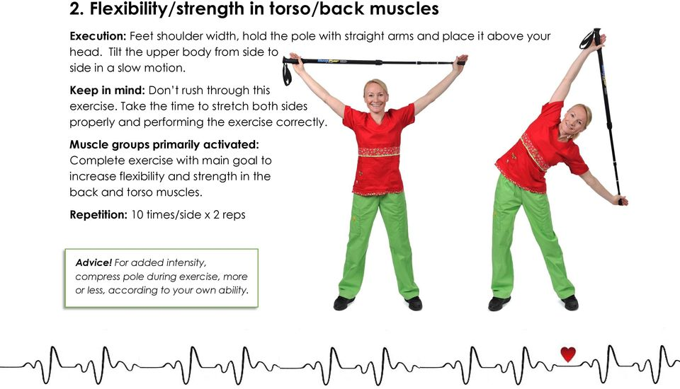 Take the time to stretch both sides properly and performing the exercise correctly.
