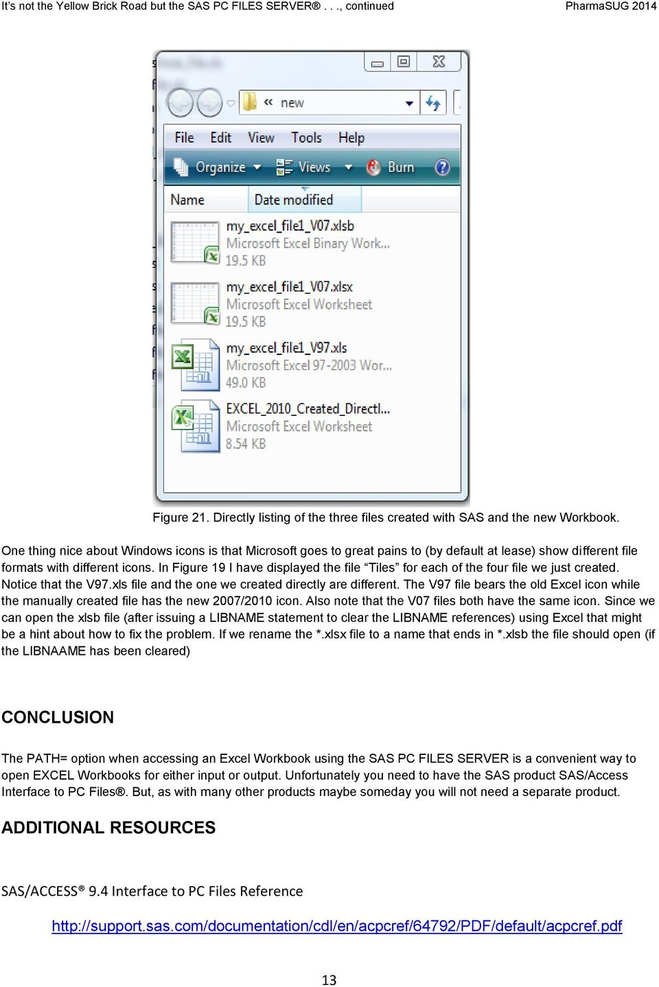 worksheet Sas Import Excel Worksheet it s not the yellow brick road but sas pc files server will take in figure 19 i have displayed file tiles for each of four we