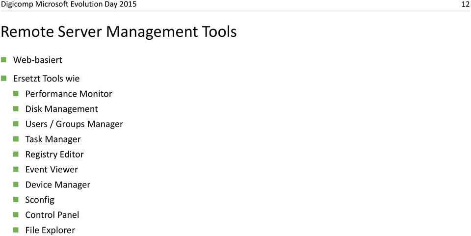 Groups Manager Task Manager Registry Editor Event