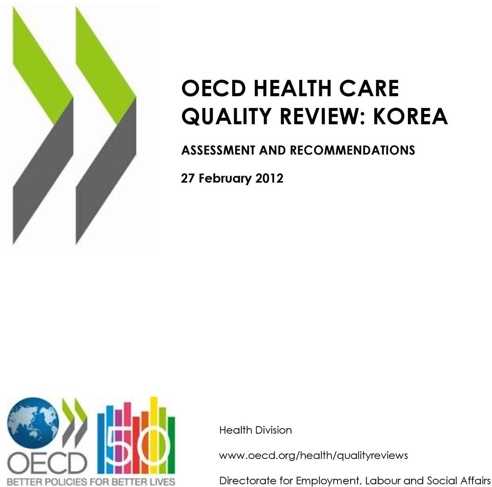 Health Division www.oecd.