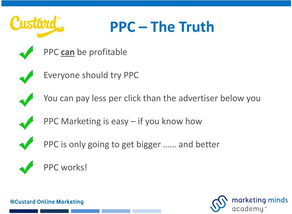you PPC Marketing is easy if you know how PPC is only