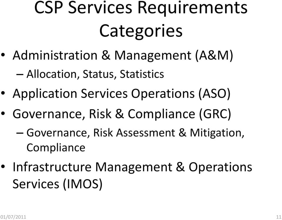Governance, Risk & Compliance (GRC) Governance, Risk Assessment &