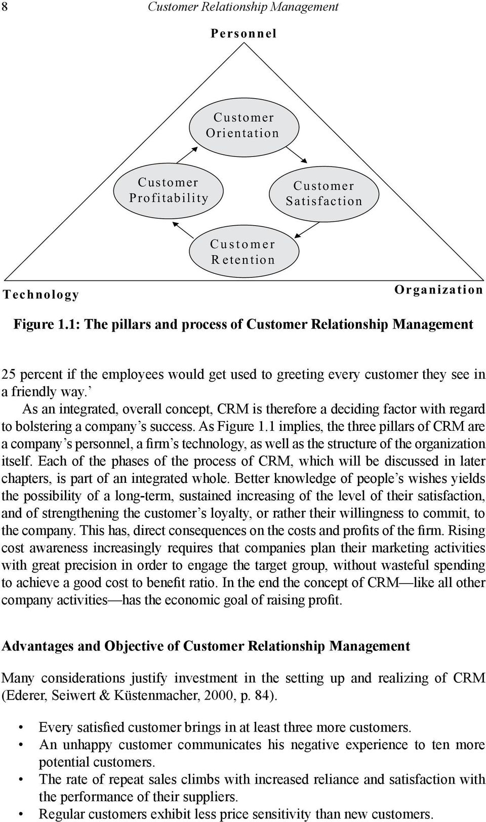 As an integrated, overall concept, CRM is therefore a deciding factor with regard to bolstering a company s success. As Figure 1.