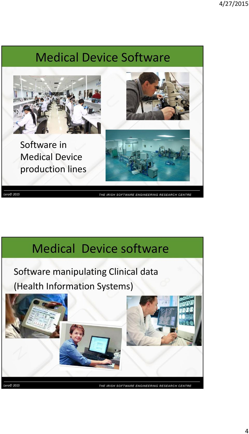 lines Medical Device software Software