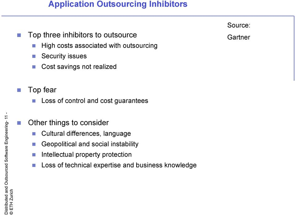 Distributed and Outsourced Software Engineering- 11 - Other things to consider Cultural differences, language