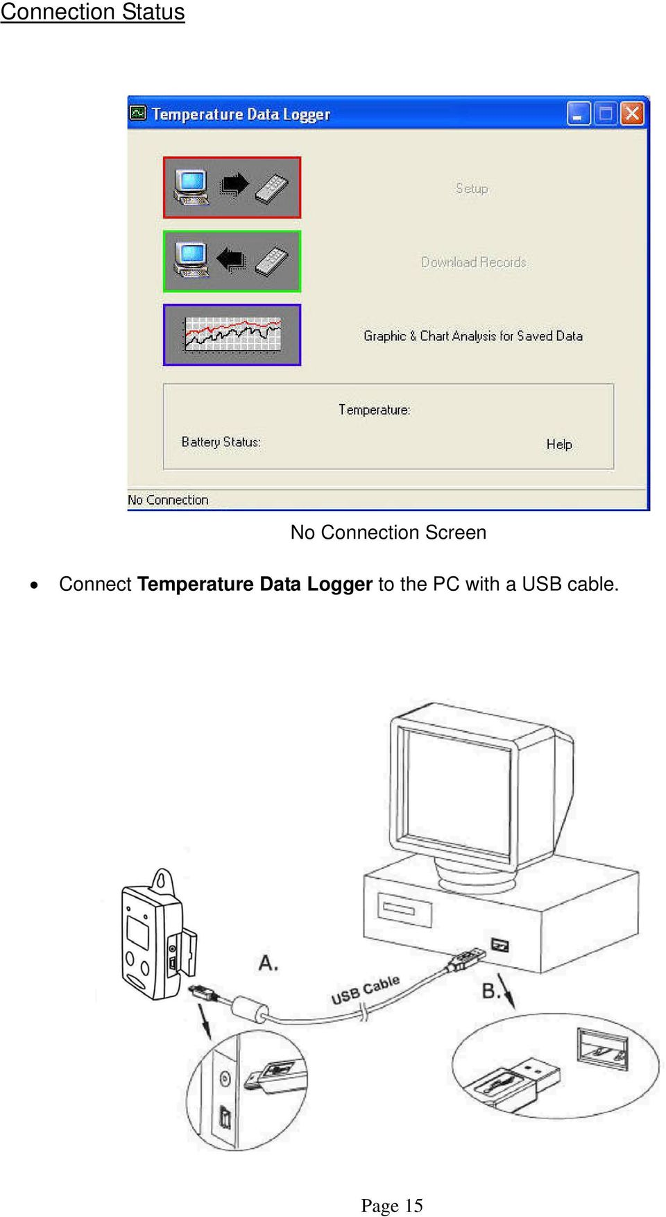 Temperature Data Logger to