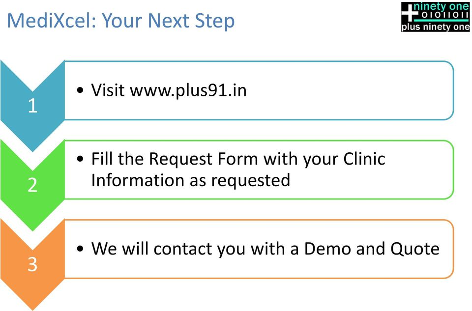 in Fill the Request Form with your