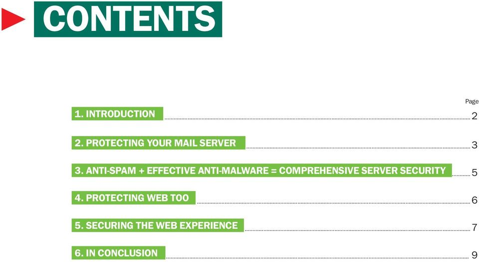 ANTI-SPAM + EFFECTIVE ANTI-MALWARE = COMPREHENSIVE