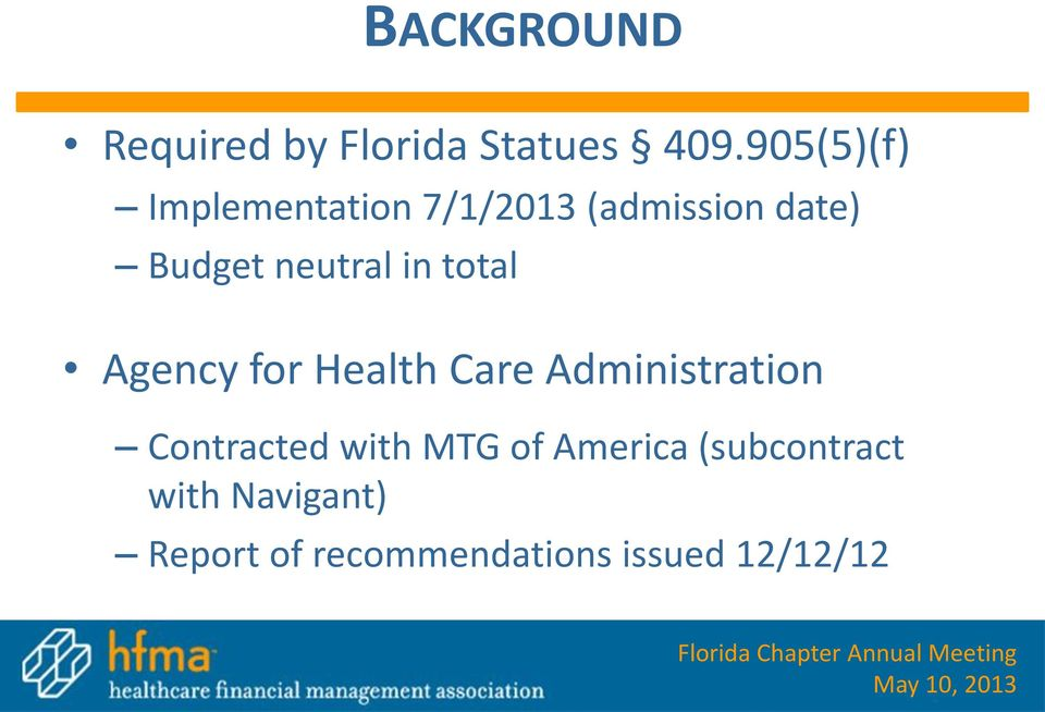 neutral in total Agency for Health Care Administration