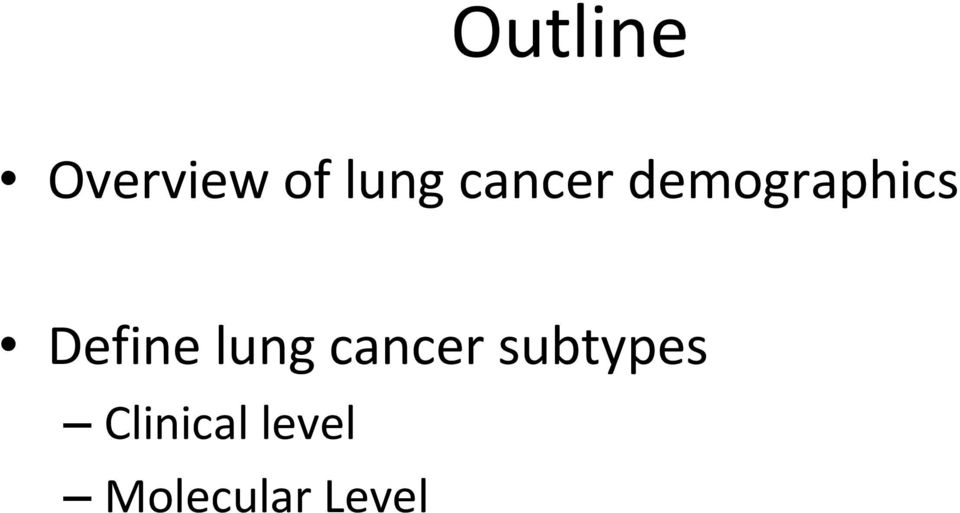 Define lung cancer