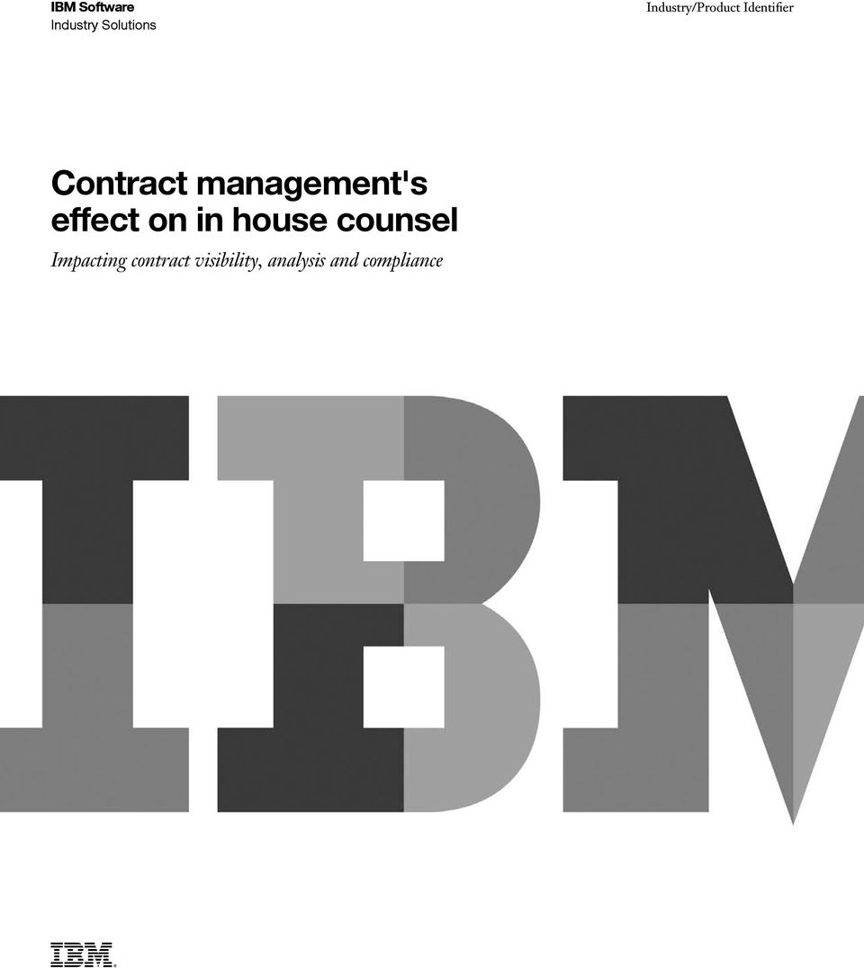 management's effect on in house counsel