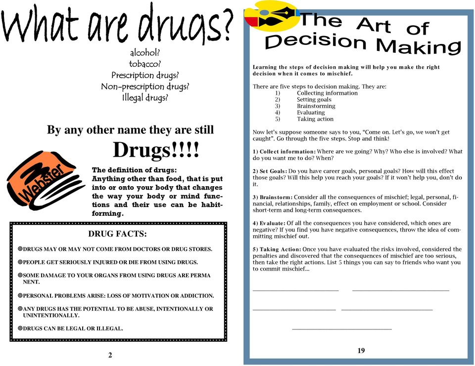 a personal recount on the dangers of experimenting with illegal drugs Many teens experiment with drugs to addiction for someone who has a personal or family history of that drugs are powerful and dangerous.