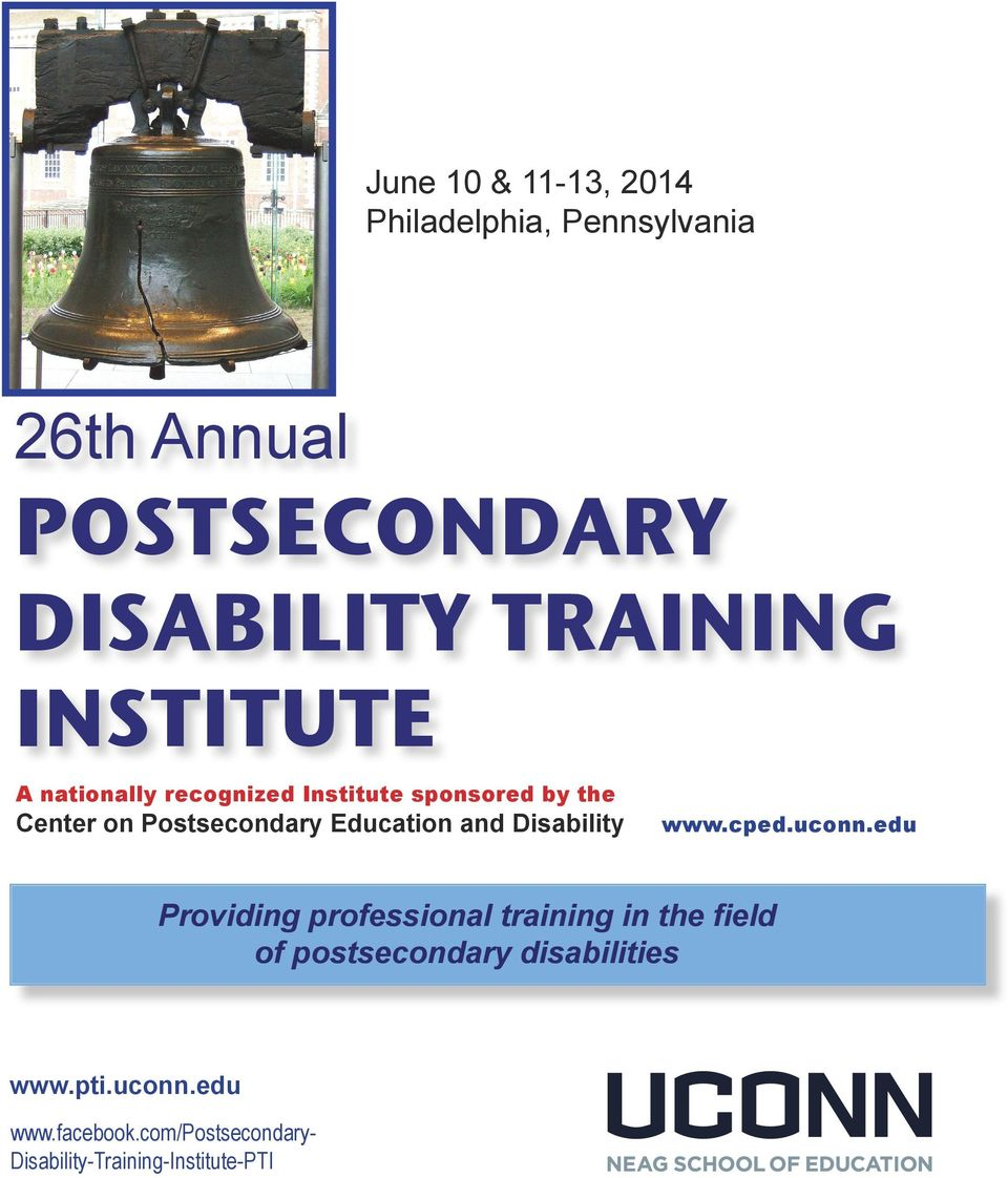 and Disability www.cped.uconn.