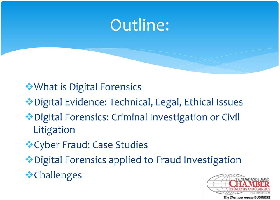 Criminal Investigation or Civil Litigation Cyber Fraud:
