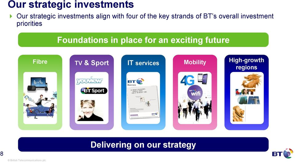 Foundations in place for an exciting future Fibre IT services TV &