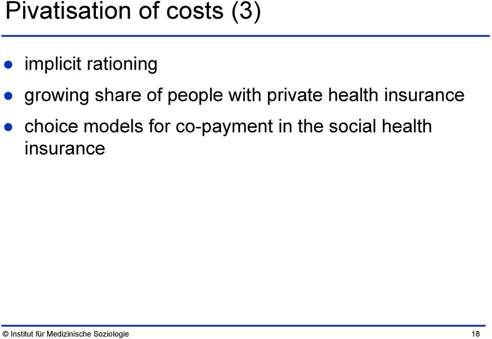 insurance choice models for co-payment in the