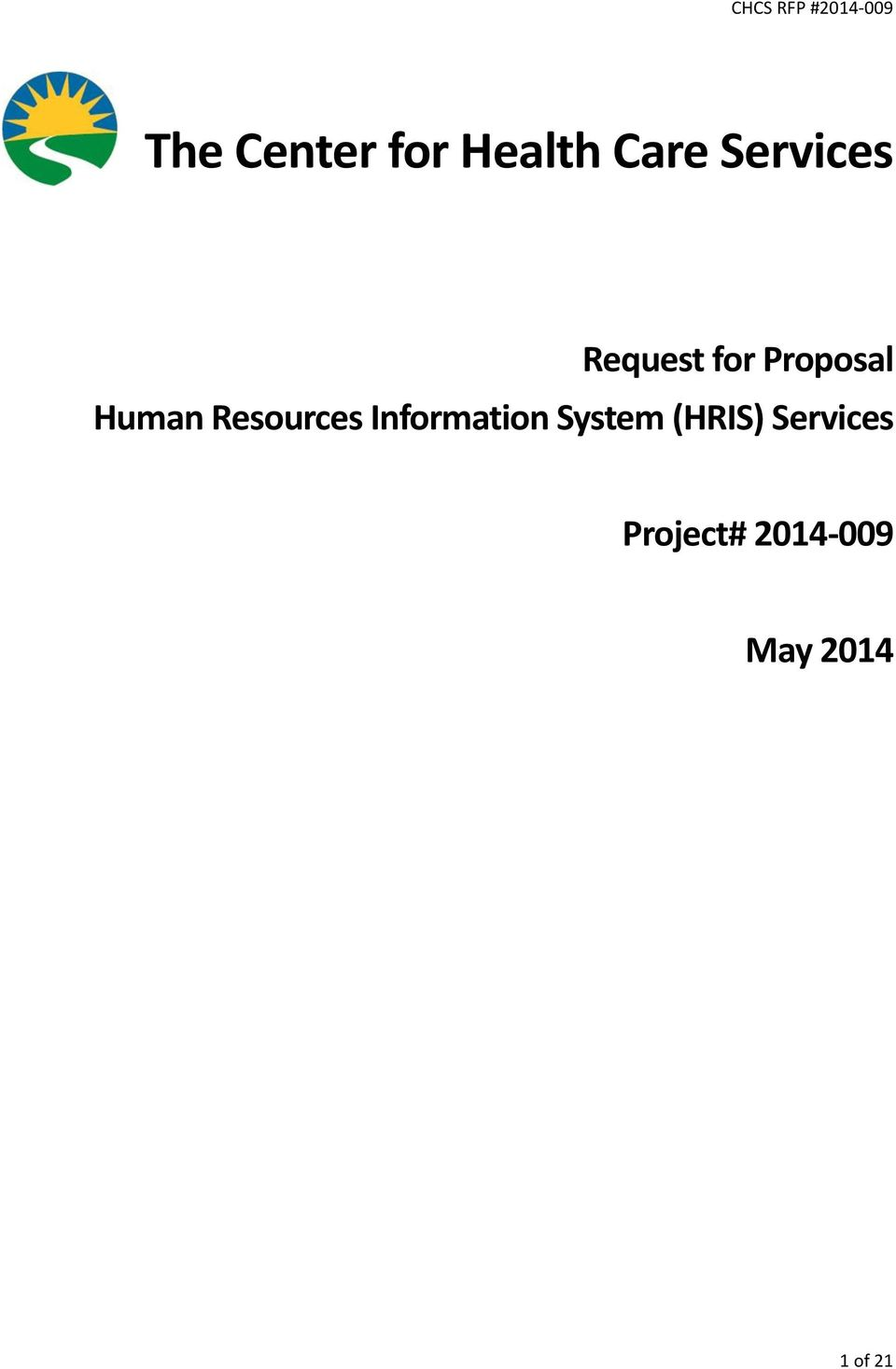 Resources Information System (HRIS)