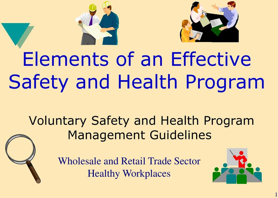 Health Program Management Guidelines