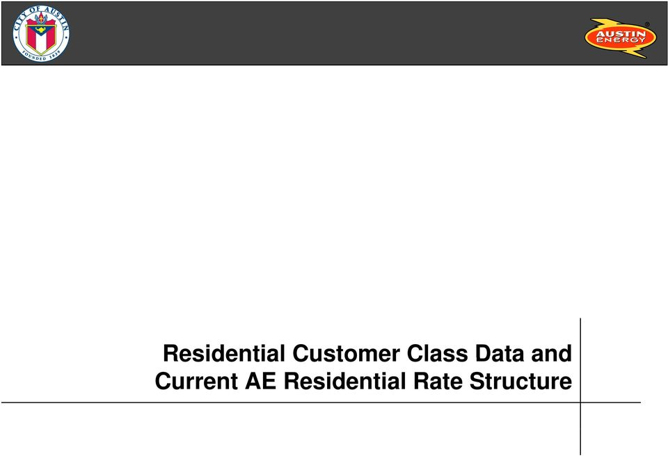 AE Residential Rate