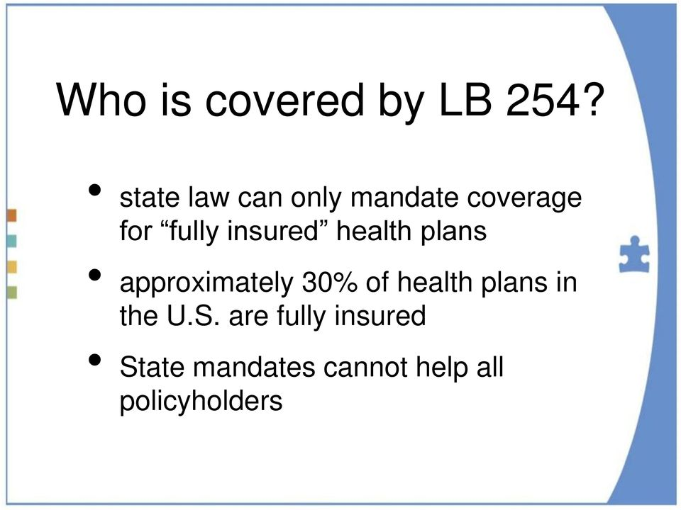 insured health plans approximately 30% of health