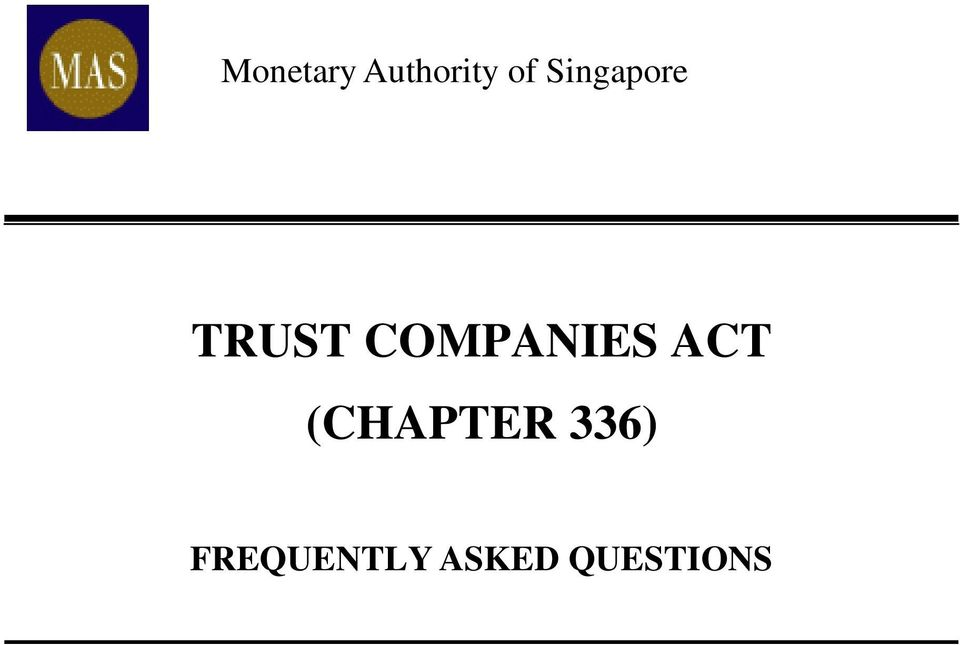 COMPANIES ACT (CHAPTER