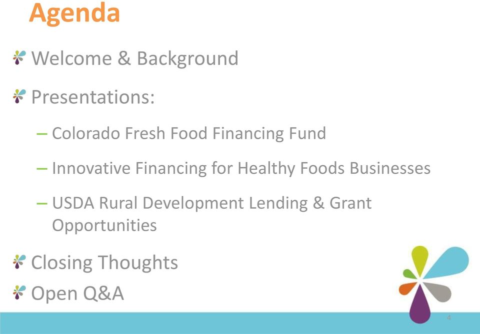 Healthy Foods Businesses USDA Rural Development